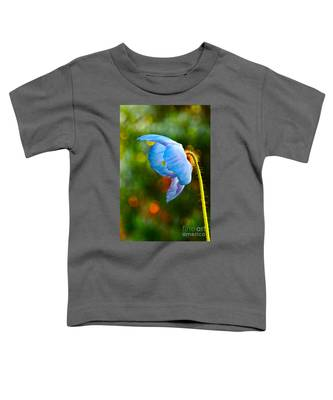 Blue Poppy Dreams Toddler T-Shirt