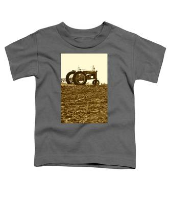 Old Tractor I In Sepia Toddler T-Shirt