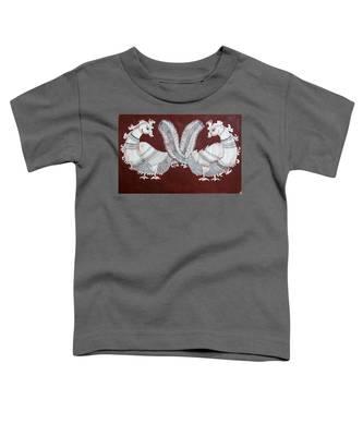 Peacocks Toddler T-Shirt