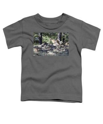 Pronghorn Antelope Fawn Toddler T-Shirt