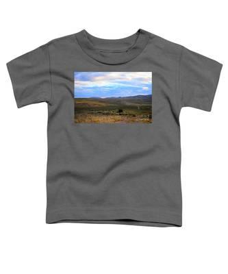Stormy Wyoming Sunrise I Toddler T-Shirt