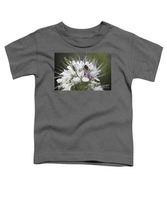 The Beetle And The Bee Toddler T-Shirt