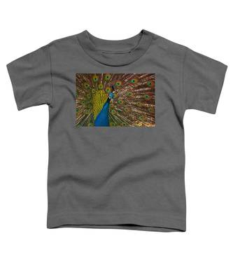 Turquoise And Gold Wonder Toddler T-Shirt