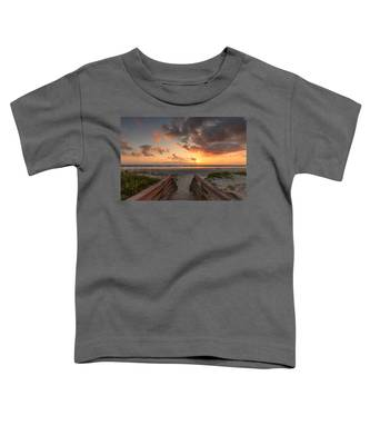 Ponce De Leon Inlet Beach Path Toddler T-Shirt
