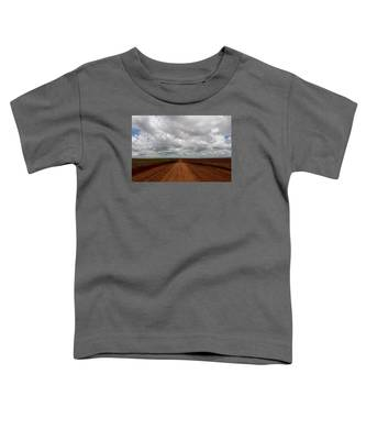 Texas Red Road Toddler T-Shirt
