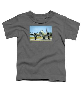 Boeing B-17g Flying Fortress   Toddler T-Shirt