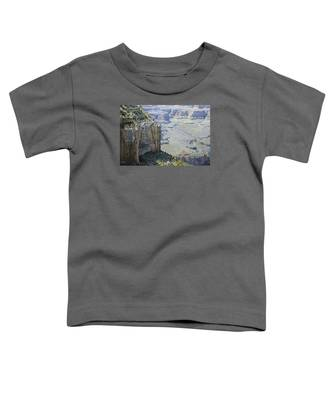 Afternoon At The Canyon Toddler T-Shirt