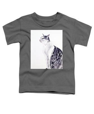 Alert Cat Toddler T-Shirt
