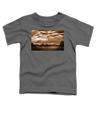 And The Heavens Opened 3 Toddler T-Shirt