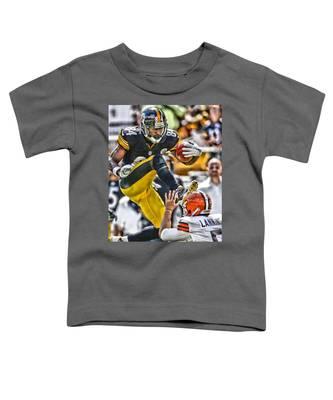 Antonio Brown Football Toddler T-Shirts