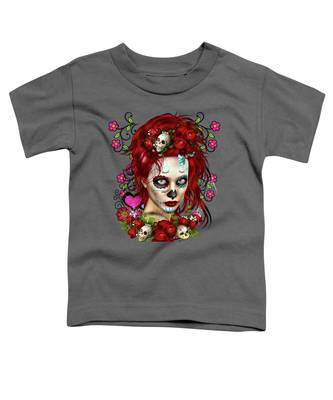 Sugar Doll Red Toddler T-Shirt