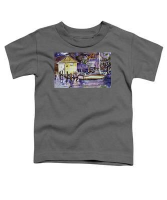 At Boat House 3 Toddler T-Shirt