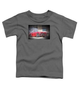 Austin Healey Chalk Study 4 Toddler T-Shirt