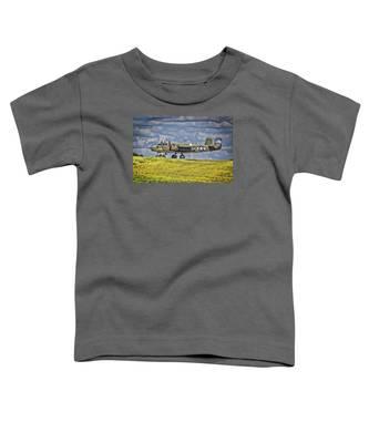 B-25 Landing Akron/canton Ohio Toddler T-Shirt
