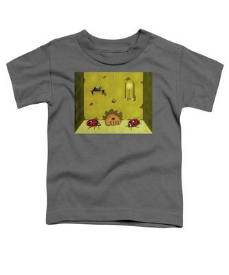 Badminton By Candlelight Toddler T-Shirt