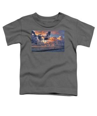 Beach Walk - Florida Seascape Toddler T-Shirt