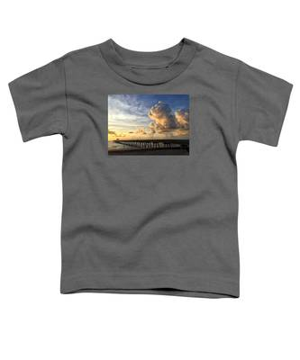 Big Cloud And The Pier, Toddler T-Shirt