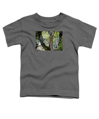 Bikes In A Tree Toddler T-Shirt