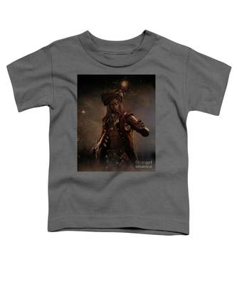 Black Caesar Pirate Toddler T-Shirt
