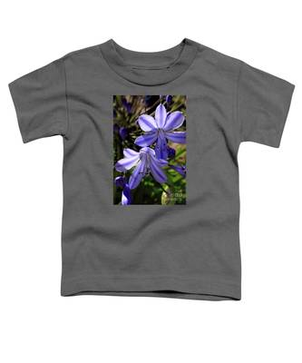 Blue Lily Toddler T-Shirt