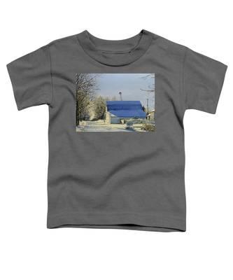 Blue Sunday Toddler T-Shirt