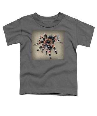 Brachypelma Smithi  Mexican Red Knee Tarantula Toddler T-Shirt
