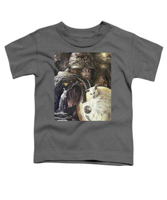 Call To The Spirits Toddler T-Shirt