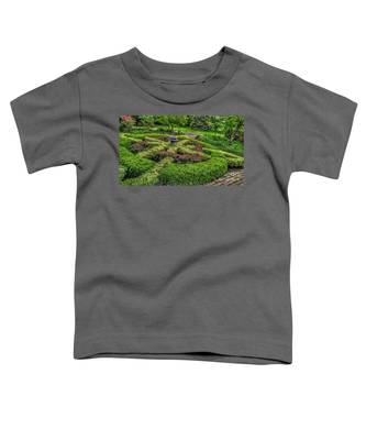 Celtic Topiary At Frelinghuysen Arboretum Toddler T-Shirt
