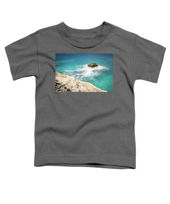 Cliff Views In Negril Toddler T-Shirt