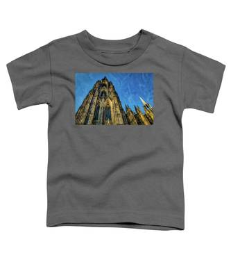 Cologne Cathedral Afternoon Toddler T-Shirt by Ross Henton