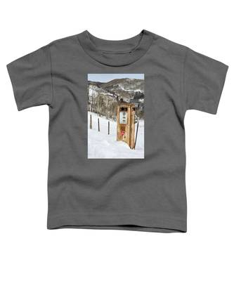 Conoco In The Snow Toddler T-Shirt