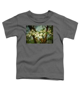 Cool Breeze Painterly Toddler T-Shirt