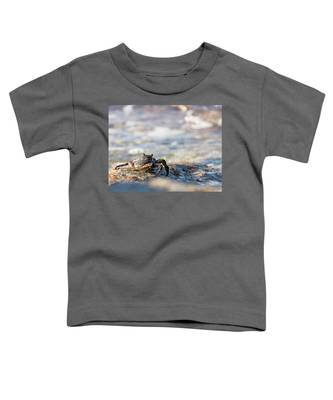 Crab Looking For Food Toddler T-Shirt