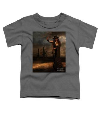 Dark Desert Highway Toddler T-Shirt