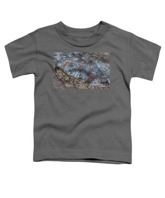 Delaware River Ice With Leaves Toddler T-Shirt