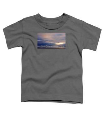 Dramatic Wave Sunrise Toddler T-Shirt