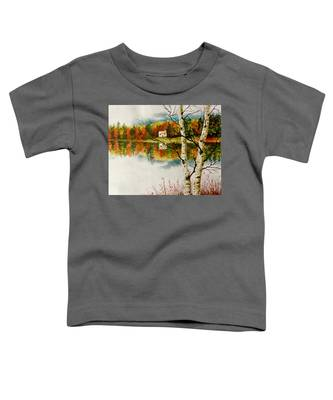 Fall Splendour Toddler T-Shirt