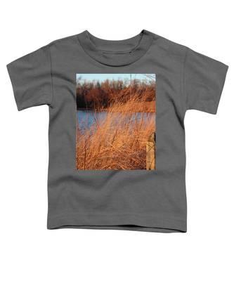 Amber Brush On The River Toddler T-Shirt