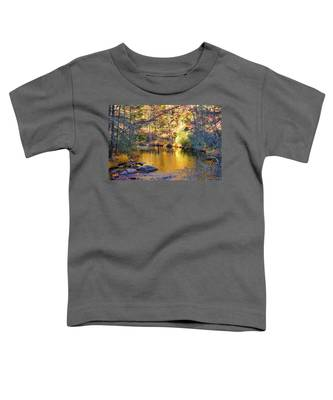 Fishing On The Cullasaja By H H Photography Of Florida Toddler T-Shirt