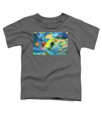 Fishy Collage 02 Toddler T-Shirt