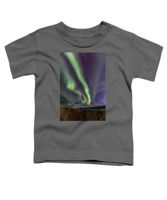 Flowing Aurora Toddler T-Shirt