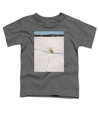 Footprints In The Snow II Toddler T-Shirt