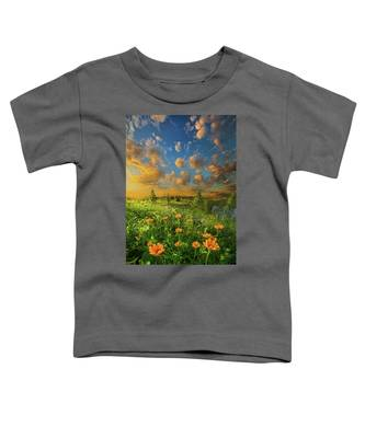 For A Moment All The World Was Right Toddler T-Shirt