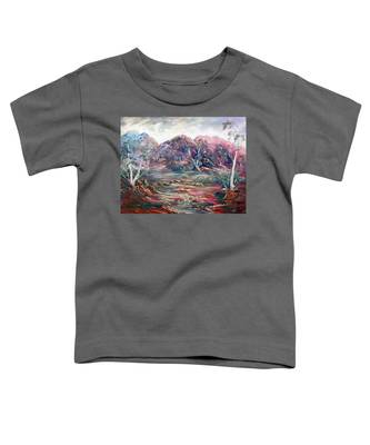 Fountain Springs Outback Australia Toddler T-Shirt