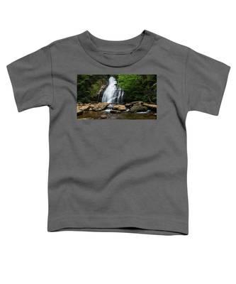 Gentle Waterfall North Georgia Mountains Toddler T-Shirt