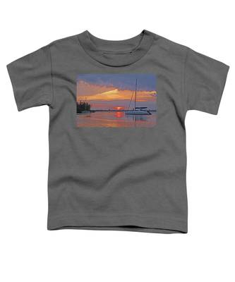 Greet The Day Toddler T-Shirt
