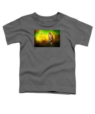 Hawk On Branch Toddler T-Shirt