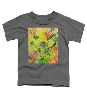 Hello Yellow Toddler T-Shirt