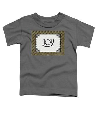 Joy - Art Deco Toddler T-Shirt