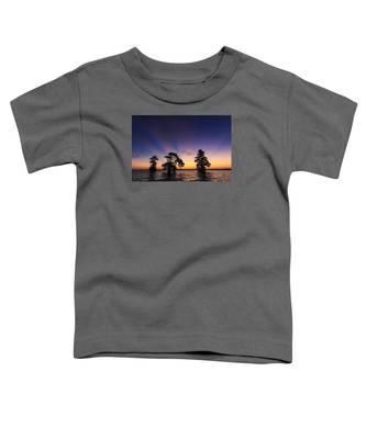 Lake Istokpoga Sunrise Toddler T-Shirt